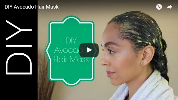 video-template-for-homemade avocado hair mask