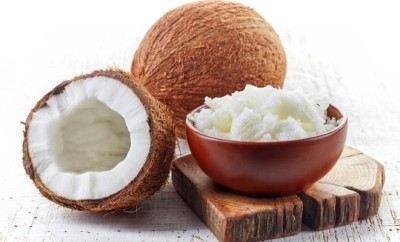 coconut with its oil featured