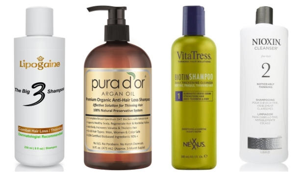 list of best hair loss shampoos