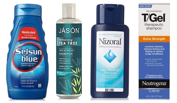 list of dandruff shampoos