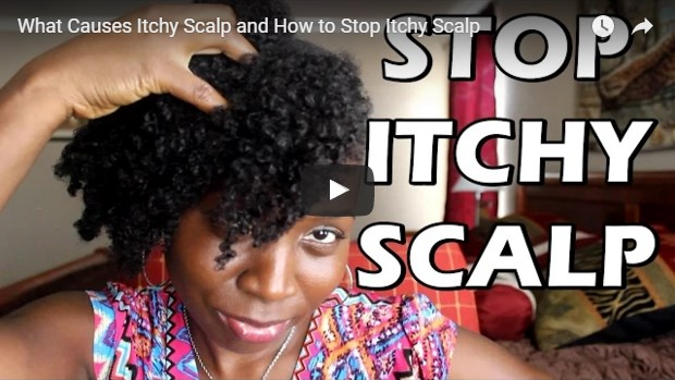 video template for treating itchy scalp