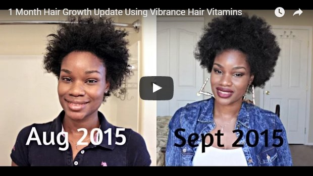 video template for vitamins for hair health
