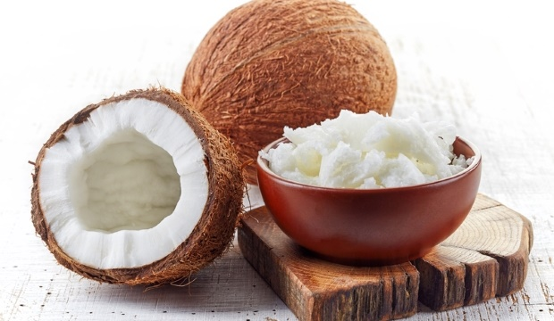 coconut with its oil