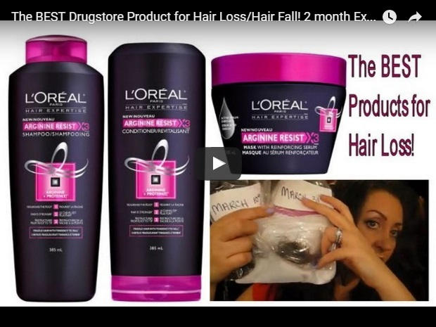 video template for hair loss shampoos