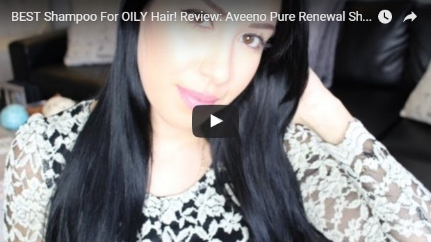video template for oily hair shampoos