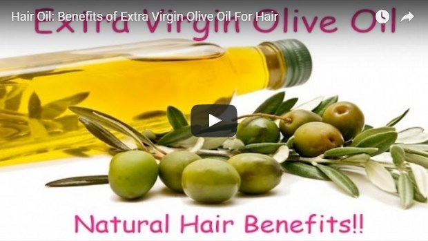 video template for olive oil benefits for hair