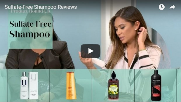 video template for sulfate free shampoos